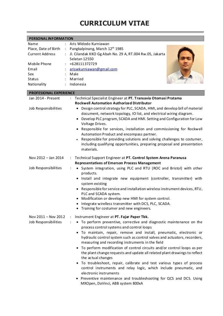 Cv Aris Widodo Home Wiring Materials List