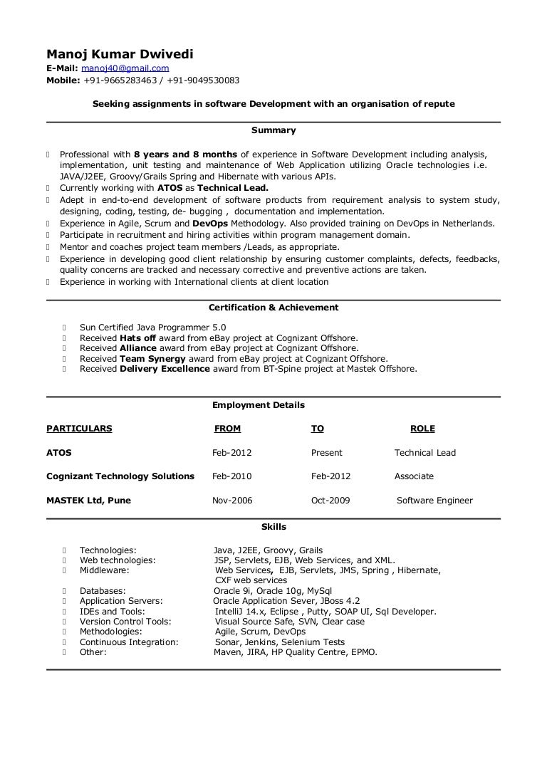 Objective For Resume For Lecturer Post In Engineering College Bios