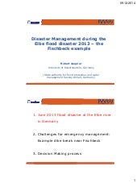 06 internal use-only-disaster management during the elbe flood-jüpner