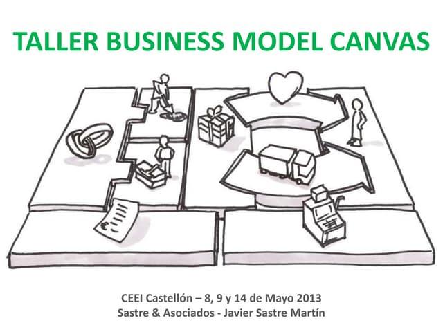 Taller Business Model Canvas sesión 1 -  presentar