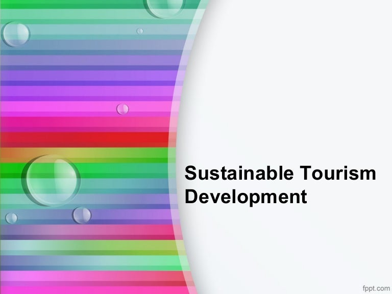 Sustainable Tourism Development