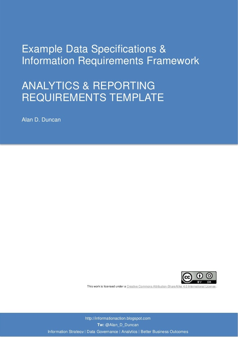 07. Analytics & Reporting Requirements Template