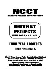 2013 14 dot net project titles, (non ieee) networking