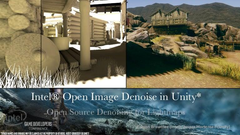Intel® Open Image Denoise in Unity*