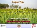 0703 Survey of SRI and Other Rice Management Practices on Acid Soils in Prey Veng Provinces