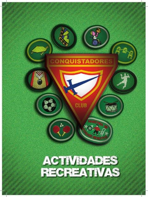 07 Especialidades de Actividades Recreativas   Club de Conquistadores