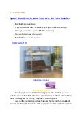 Special!  Dorel Home Products Twin-Over-Full Futon Bunk Bed