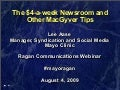 Mayo Clinic Social Media Webcast