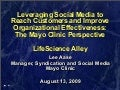 LifeScience Alley Mayo Clinic Presentation