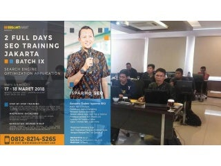 0812-8214-5265 [TSEL] - Belajar SEO Pemula Jakarta, Belajar Search Engine Optimization di Jakarta