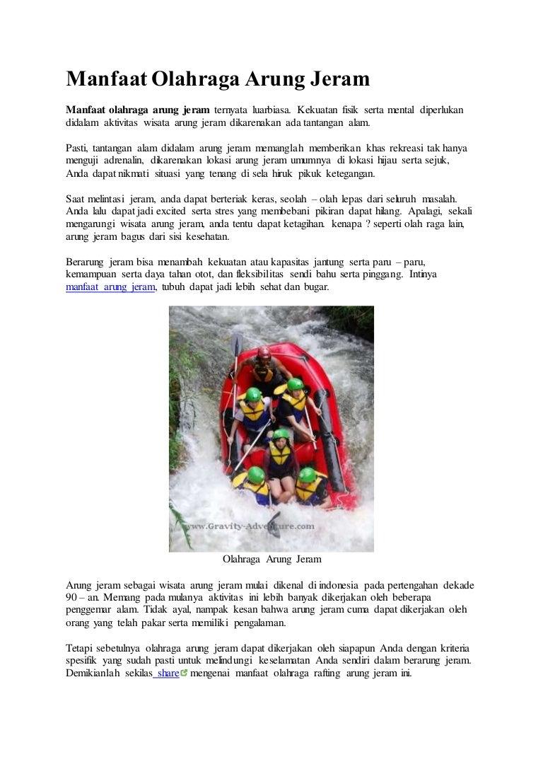 081231938011 Paket Rafting Paket Songa Rafting Manfaat Olahraga