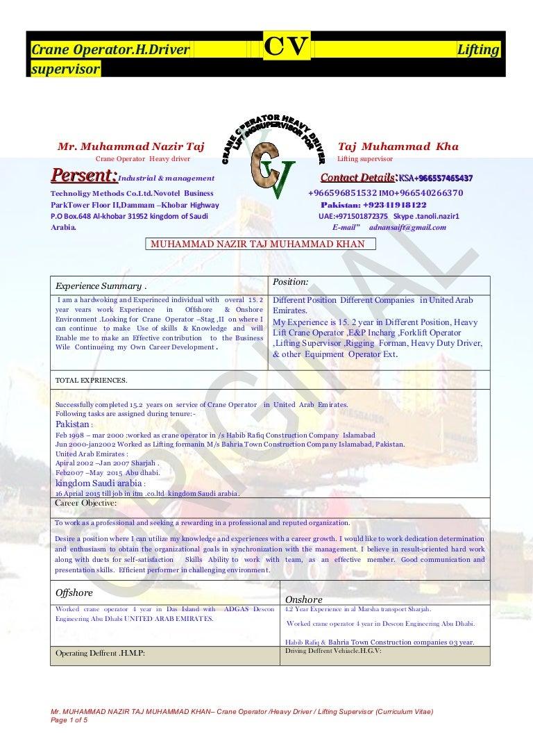 MUHAMMAD CV