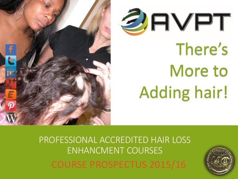 Course Prospectus Hair Loss Consultant Or Trainers Course By Hair Ext