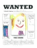 First Grade Wanted Posters