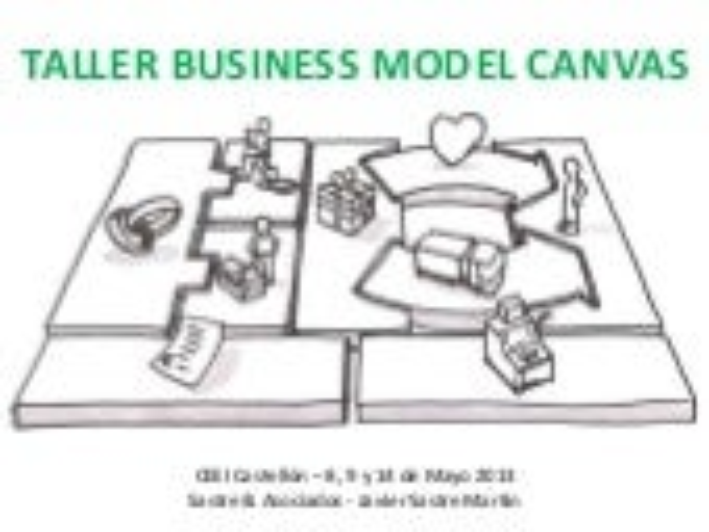 Taller Business Model Canvas sesión 3 - implantar
