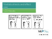 [09-A] Statistical tests and effect size