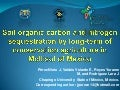 Soil organic carbon and nitrogen sequestration by long-term of CA in Mollisol of Mexico. Joel Perez Nieto