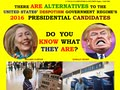 09/05/16 ALTERNATIVES TO HILLARY CLINTON & DONALD TRUMP