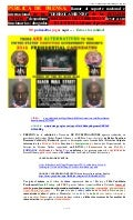 090516 PUBLIC NEWS RELEASE -OVERTHROWING USA DESPOTISM GOVERNMENT - SPANISH