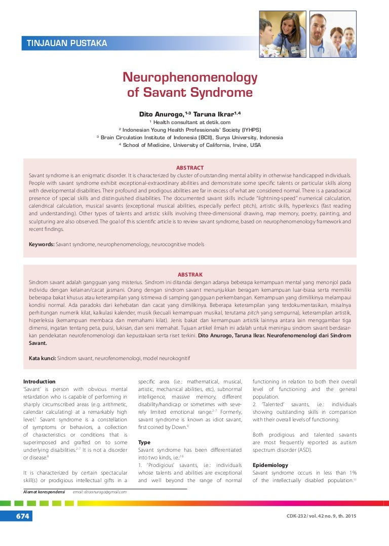 the characteristics of savant syndrome most directly suggest that intelligence
