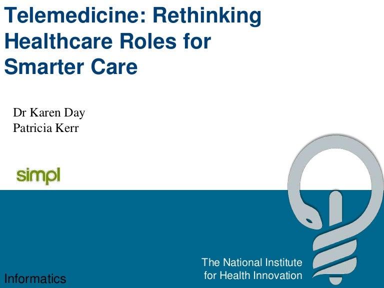 Telemedicine Rethinking Healthcare Roles For Smarter Care