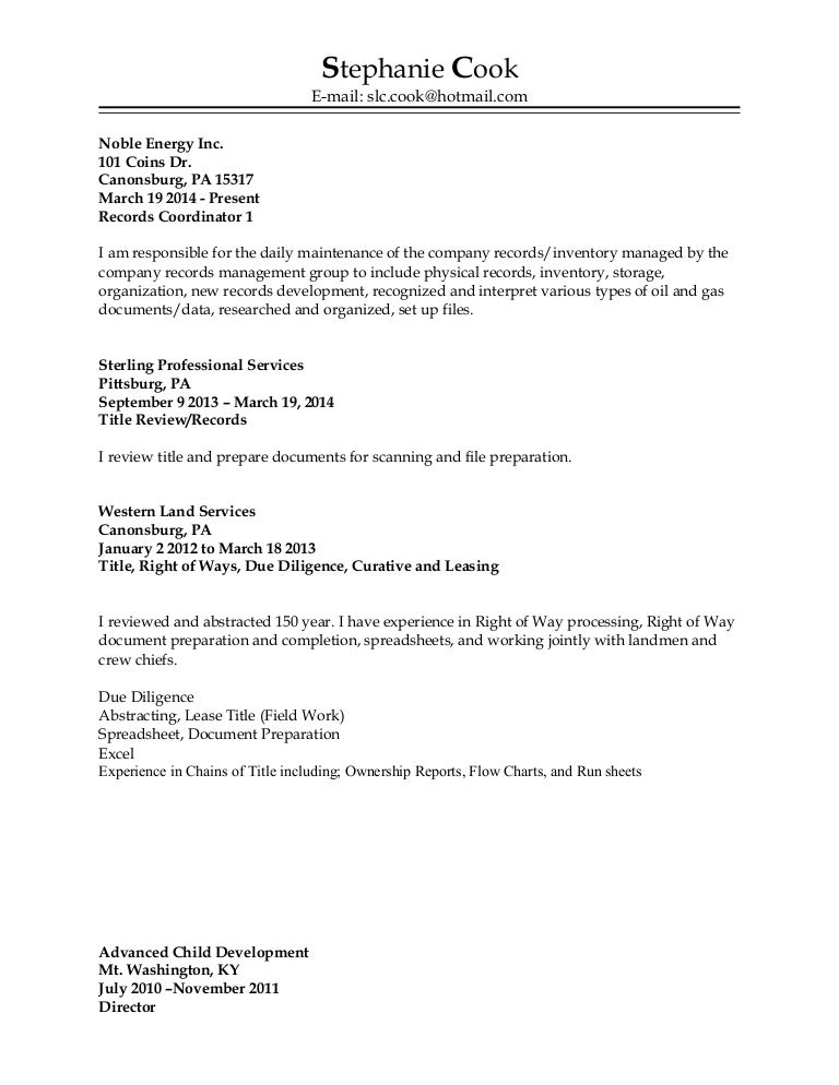 resume without address - Resume Address