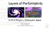 Layers of Performativity