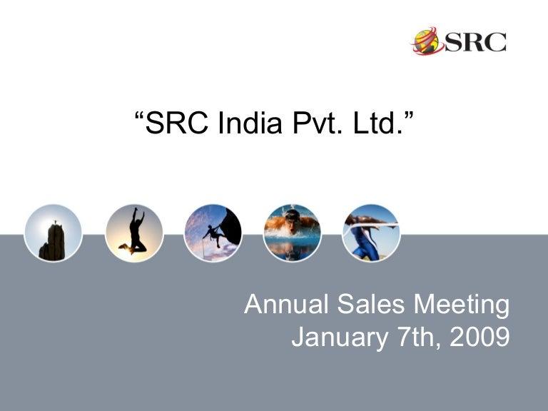 09 sales meeting presentation india