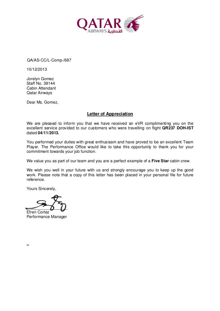 letter of appreciation 2013nov04