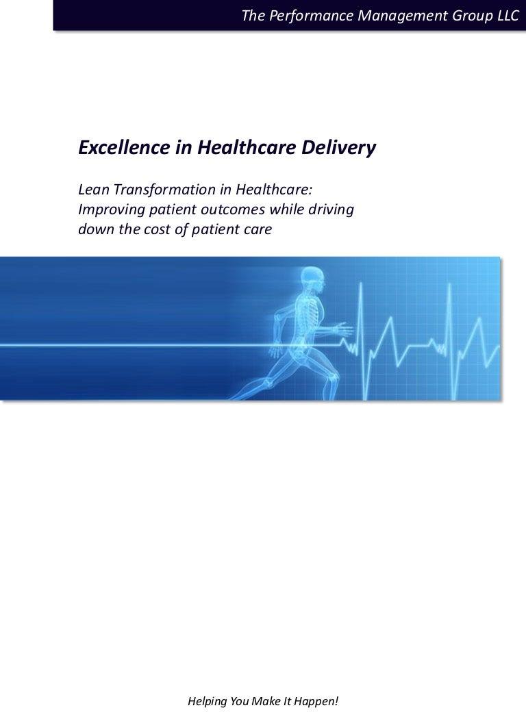 Lean Transformation In Healthcare White Paper