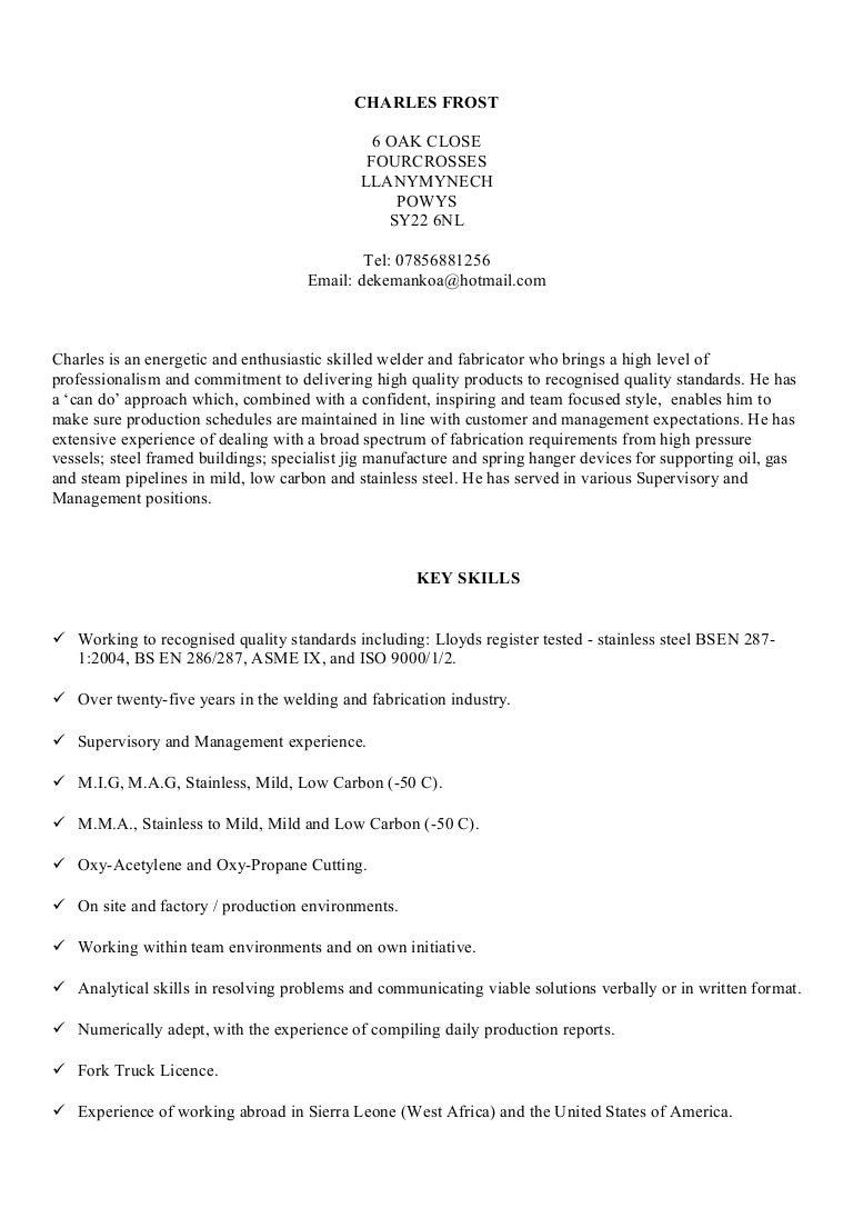 Sheet Metal Sample Resume Sheet Metal Fabrication Precision Machine  Fabrication Executive Secretary Resume Samples Visualcv Resume