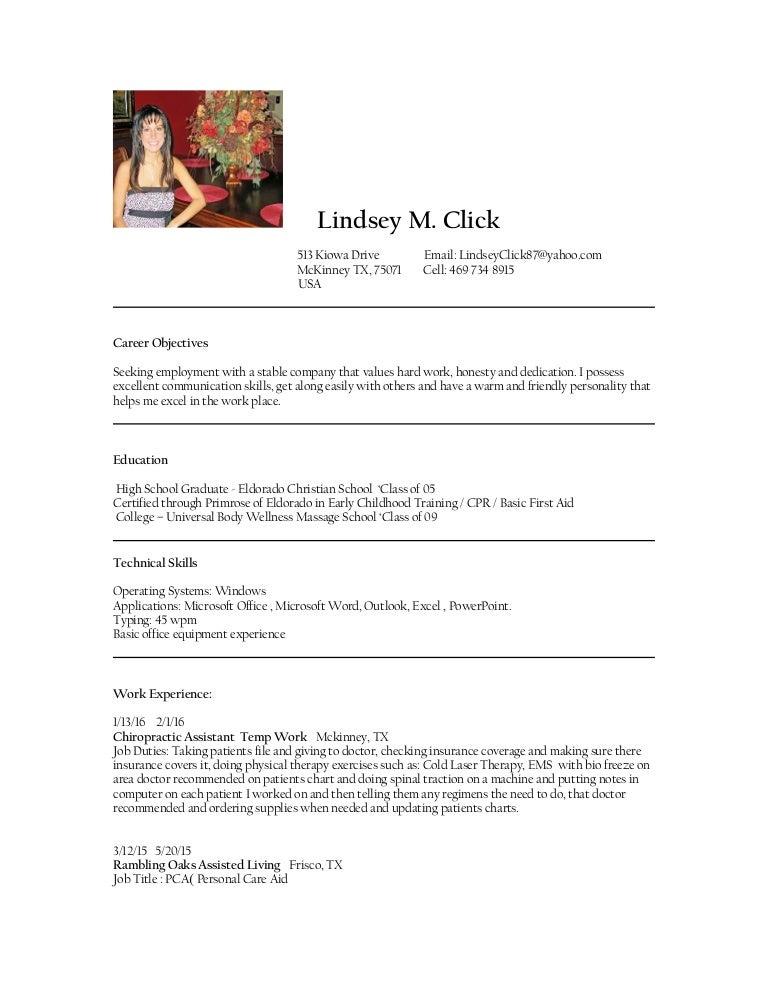 Lindsey S Resume 2016 1