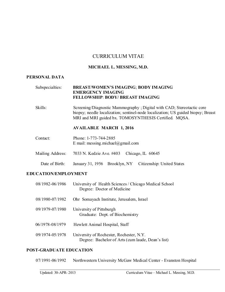 CV Breast-Body-ER March 1 Jan 21-2016 (1)