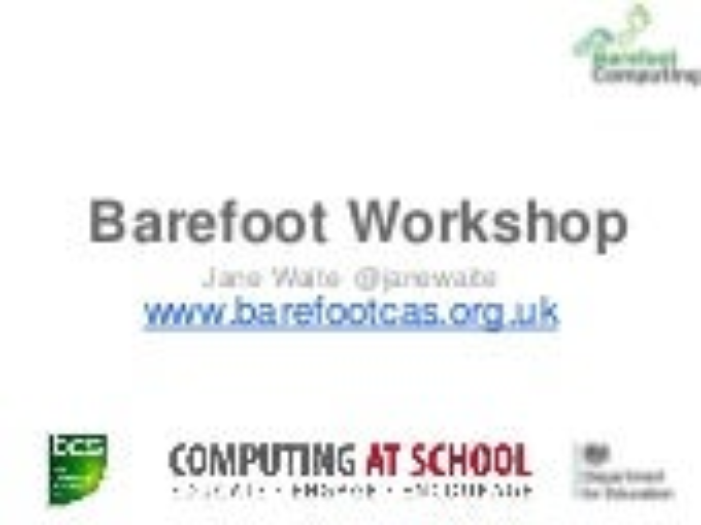 Barefoot iCompute