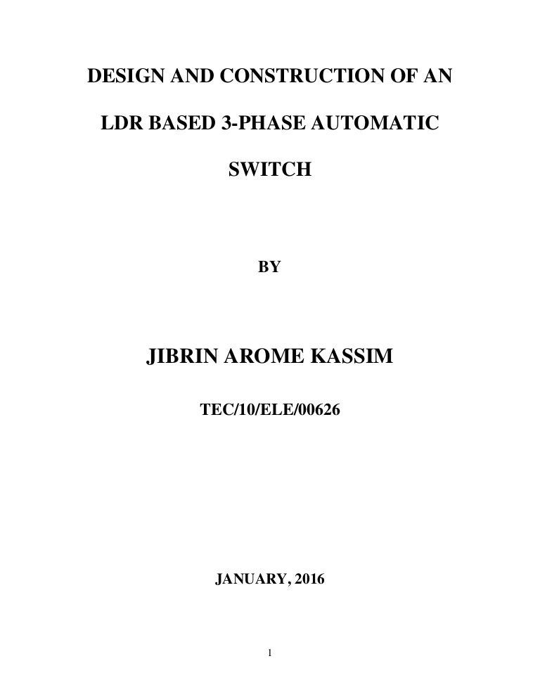 Perfect Ldr Switch Collection - Schematic Diagram Series Circuit ...