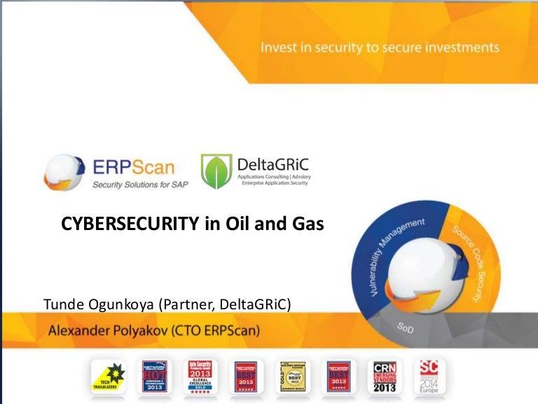 Cybersecurity in Oil Gas Industry