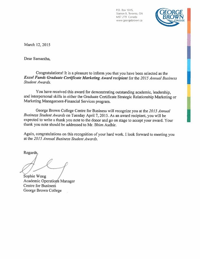 Congratulation Letter For Award from cdn.slidesharecdn.com