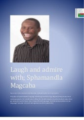LAUGH AND ADMIRE WITH