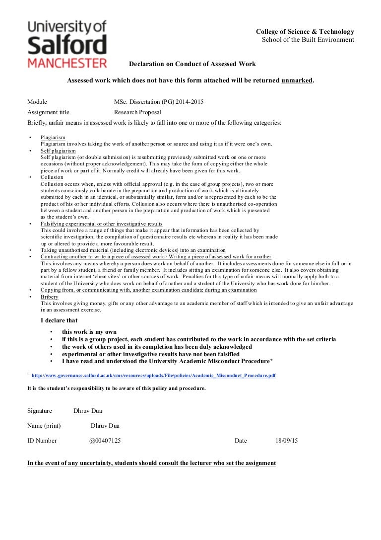 Construction safety dissertation