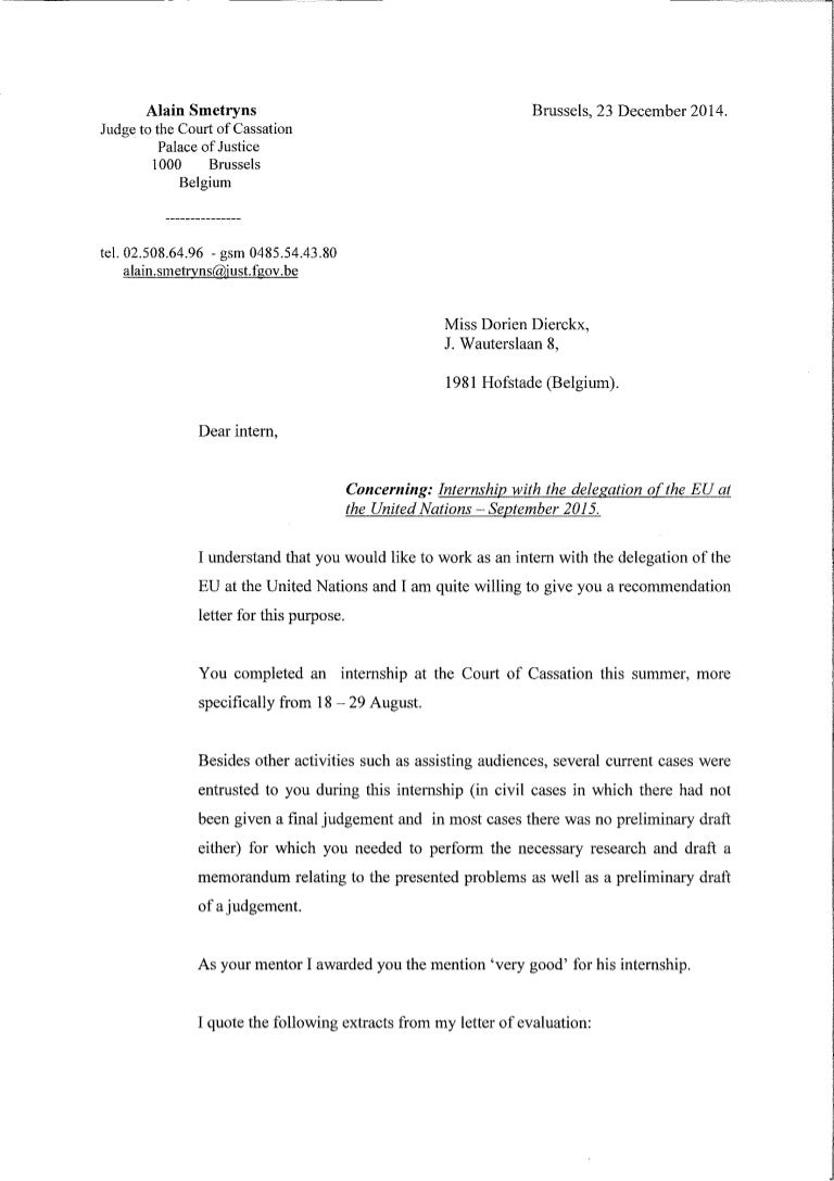 Letter of recommendation from judge to the court of cassation mitanshu Choice Image