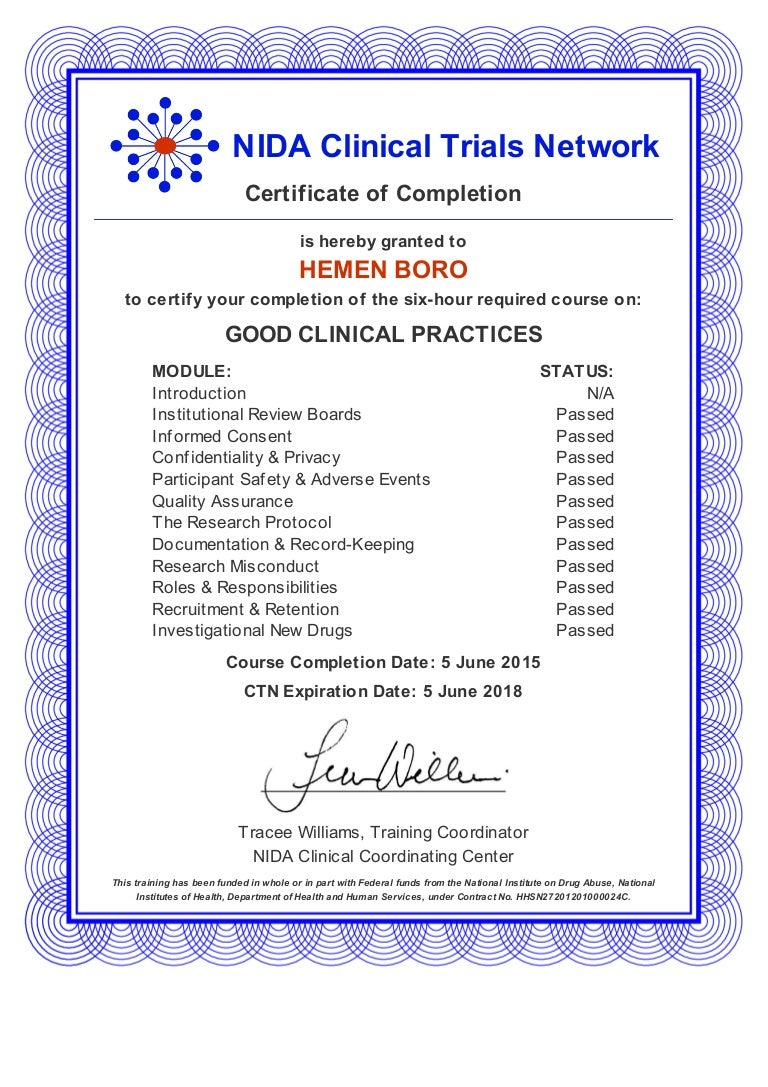 Gcp certification from nidausa 1betcityfo Choice Image