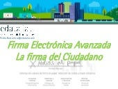 firma electronica avanzada: firma digital manuscrita y firma remota