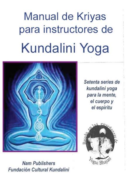 kundalini - manual para maestros (tomo I)