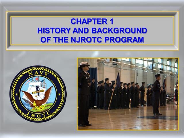 1.1.1 History and Background of the NJROTC Program