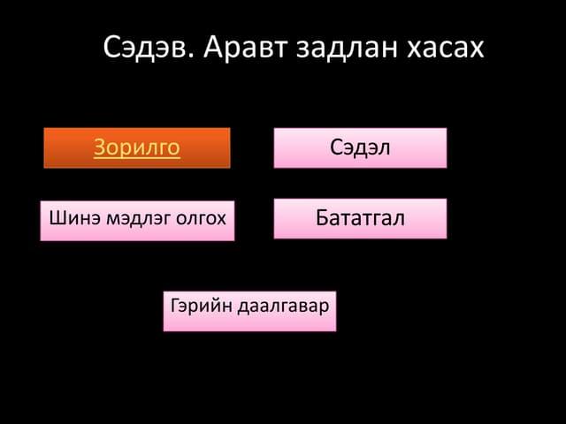 цахим хичээл 4