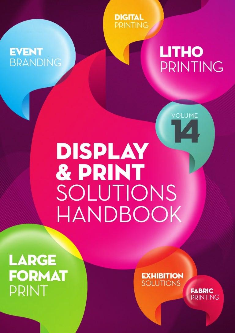 Uprint signage & exhibition brochure 2014