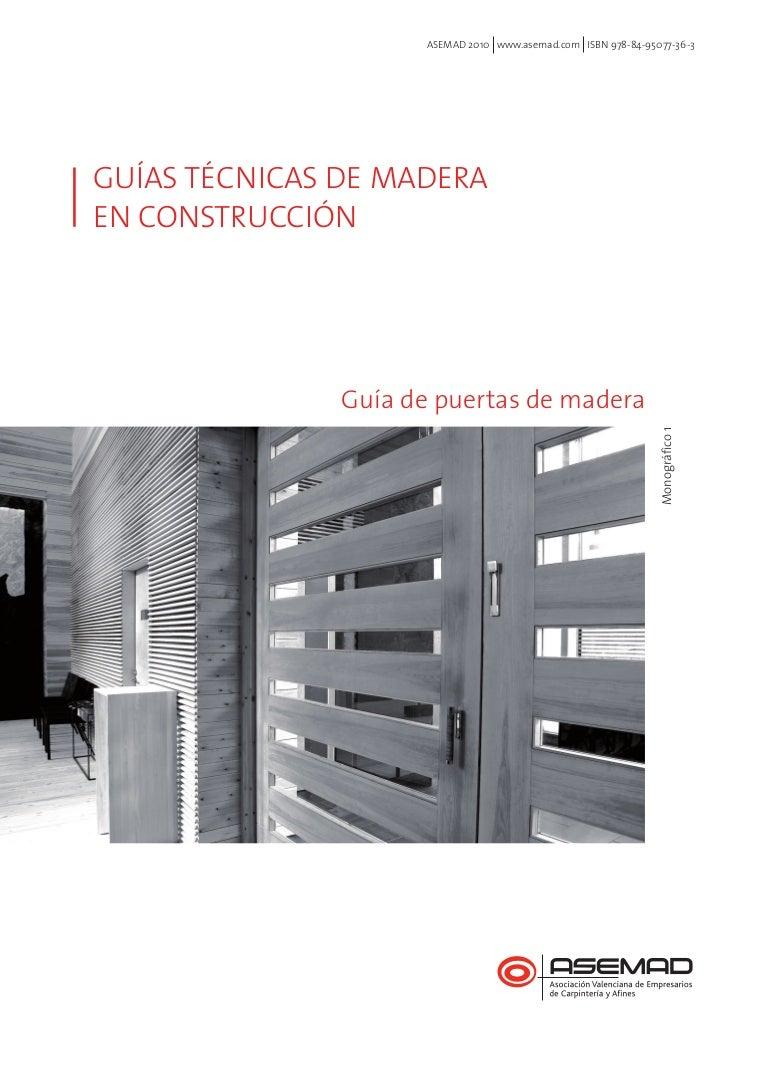 Guía de Puertas de Madera