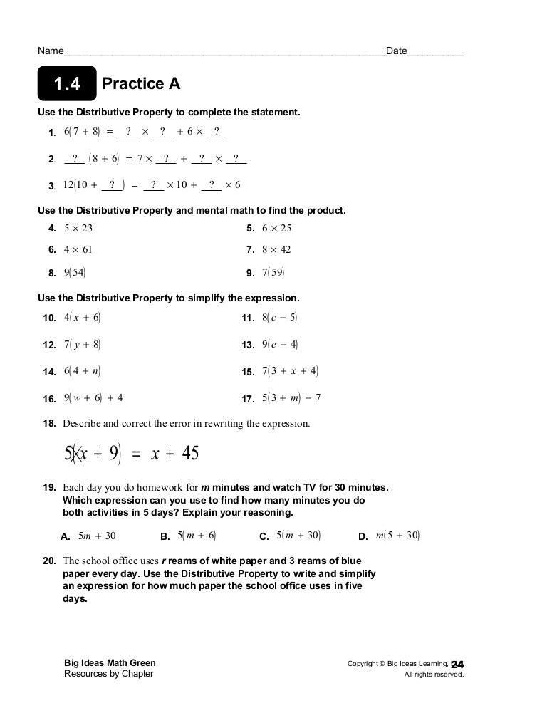 homework 13-9 use reasoning