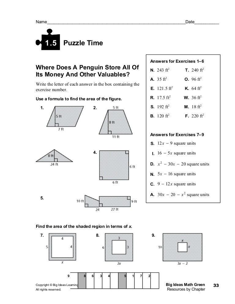 1.5 puzzle time