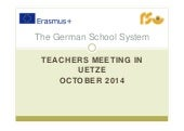1.3.1 The German School System